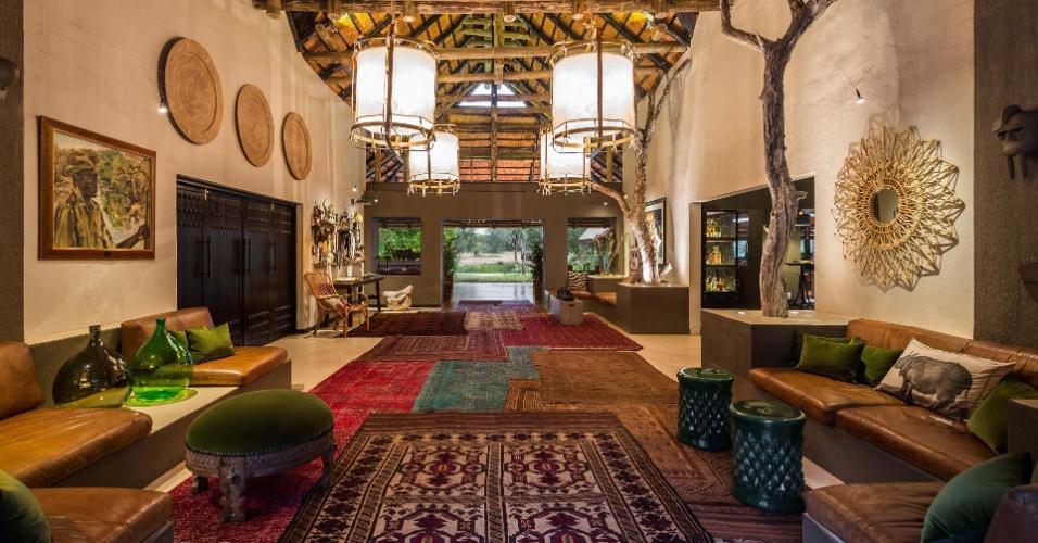 Sabi Sabi Private Game Reserve, na África do Sul