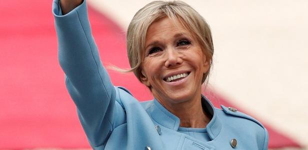 Brigitte Macron registrou queixa por roubo de identidade