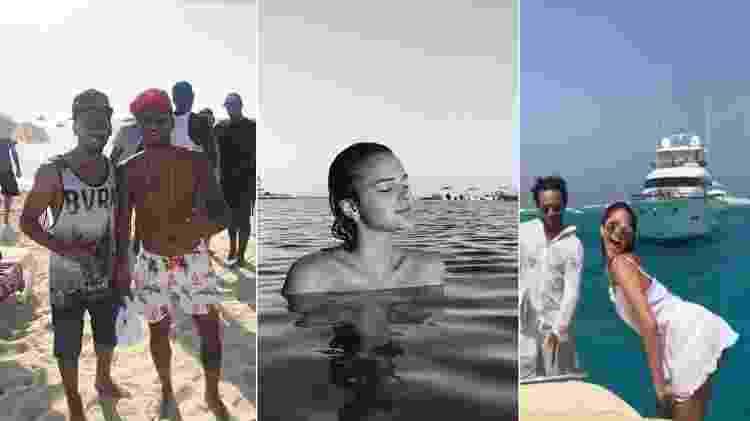 Neymar esteve em Ibiza no dia 18/7. Bruna curtiu a ilha até o dia 10 do mesmo mês - Reprodução/Instagram