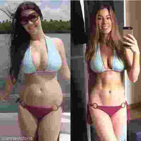 A personal trainer americana Anna Victoria inspira seus seguidores a buscar um estilo de vida mais saudável - Reprodução/Instagram