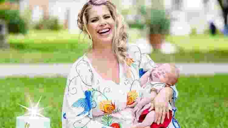 Karina Bacchi comemora 41 anos e os dois meses do filho, Enrico - Reprodução/Instagram/karinabacchi - Reprodução/Instagram/karinabacchi