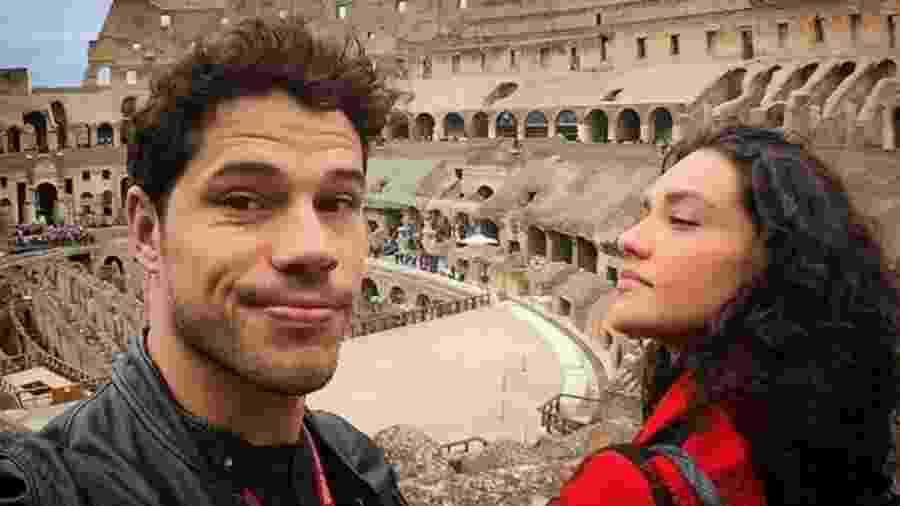 José Loreto e Débora Nascimento na Itália - Reprodução/Instagram/joseloreto