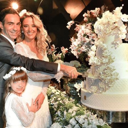 Ticiane Pinheiro com Cesar Tralli e Rafaella Justus - Reprodução/Instagram/ticipinheiro