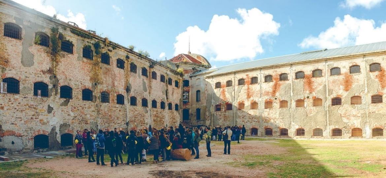 Espaço de Arte Contemporânea (EAC), que fica em antiga prisão de Montevidéu, no Uruguai - Divulgação