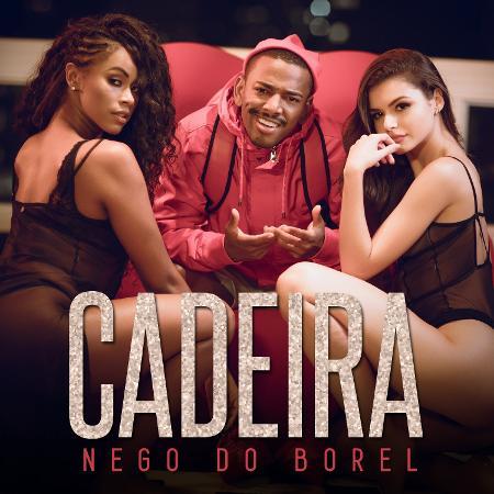 """Capa do single """"Cadeira"""", do Nego do Borel - Divulgação"""