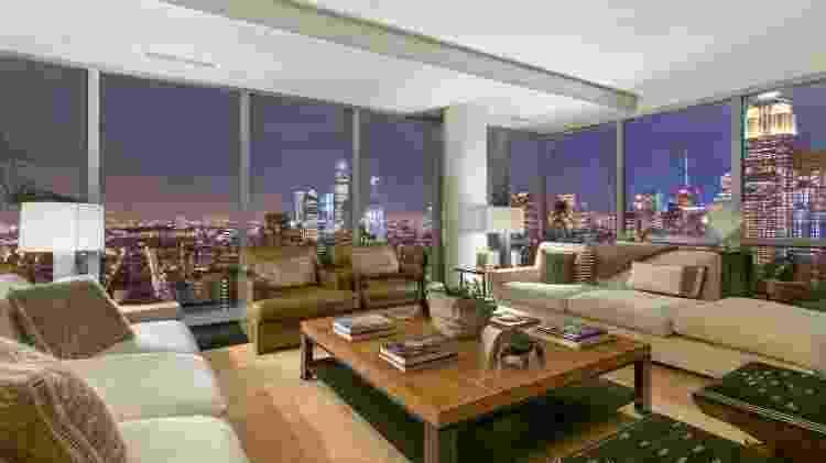O apartamento de Gisele Bündchen e Tom Brady em Nova York - Reprodução/Sotheby's International - Reprodução/Sotheby's International