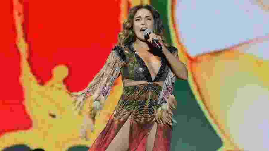 Daniela Mercury faz show no Milkshake Festival, em São Paulo - Thiago Duran/AgNews