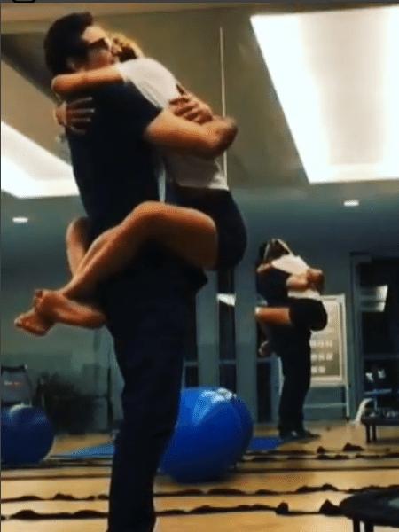 Luciano Szafir e a filha, Sasha - Reprodução/Instagram