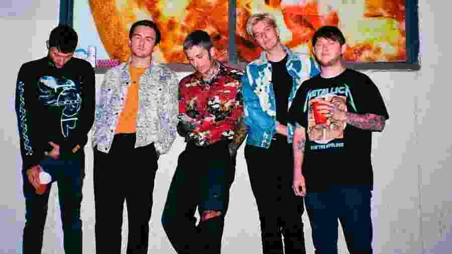 A banda britânica Bring Me the Horizon - Divulgação