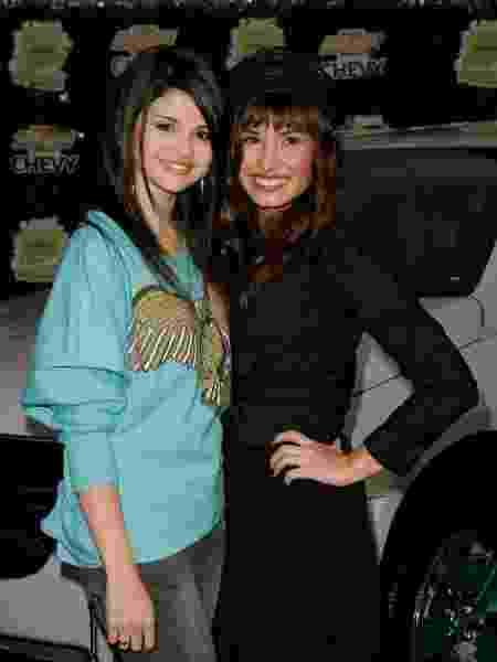 Selena Gomez e Demi Lovato em foto de 2008 - Mark Davis/Getty Images