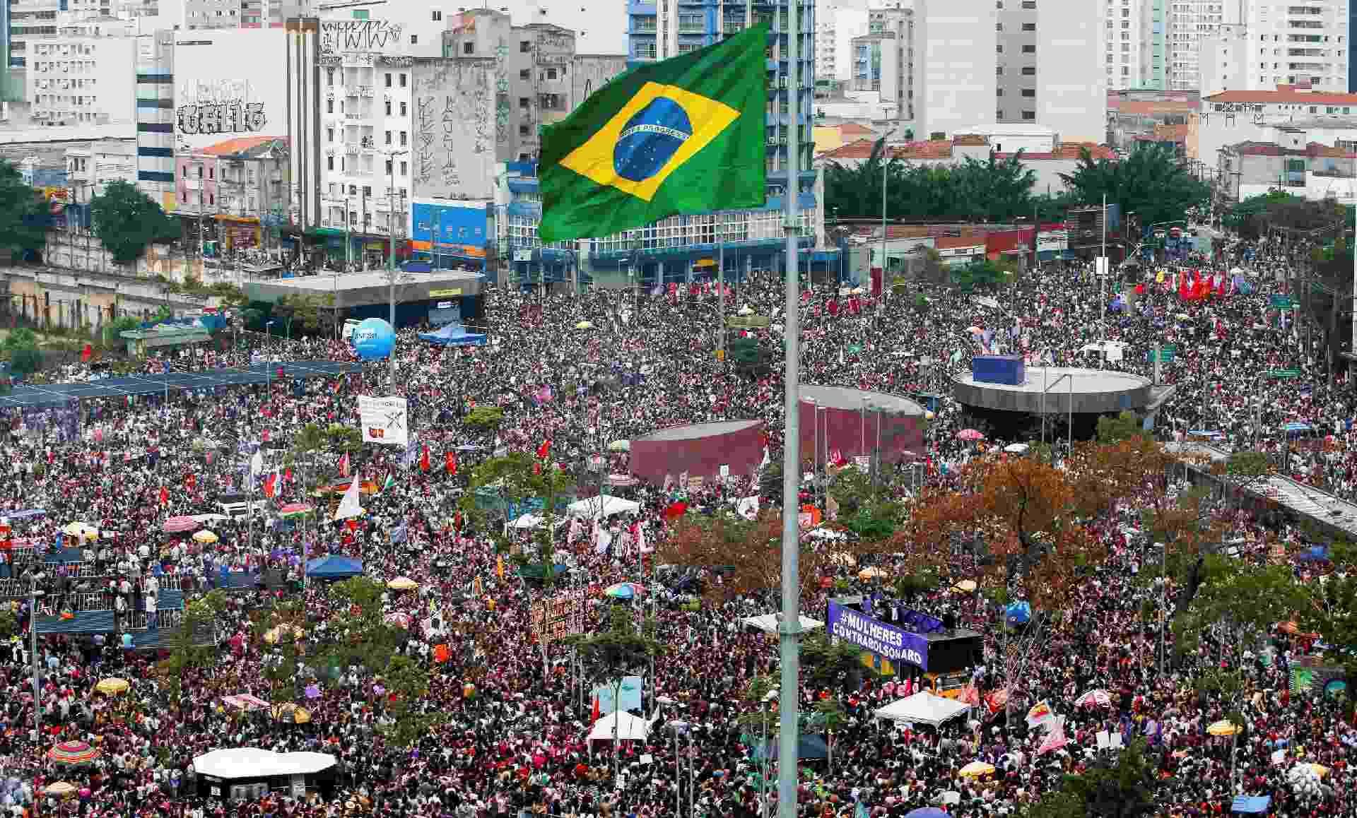 Protesto Largo da Batata - Reuters/Alexandre Schneider