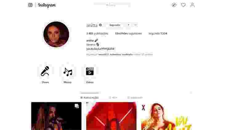 Anitta atinge marca de 33 milhões de seguidores no Instagram - Reprodução/Instagram - Reprodução/Instagram