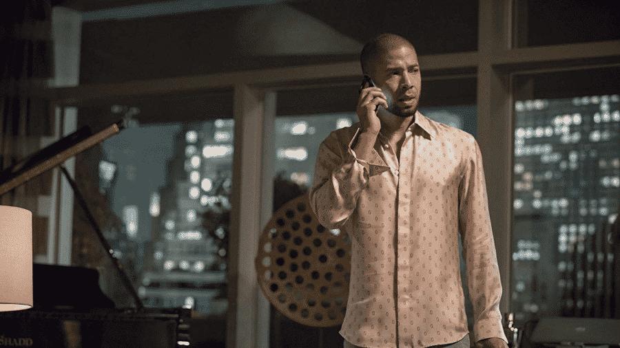 """O ator Jussie Smollett em cena de """"Empire"""" - Reprodução"""