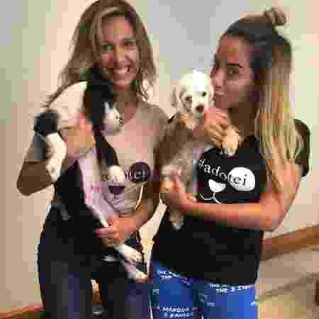 Luisa Mell e Anitta são amigas e compartilham o ativismo ambiental - Reprodução/Instagram