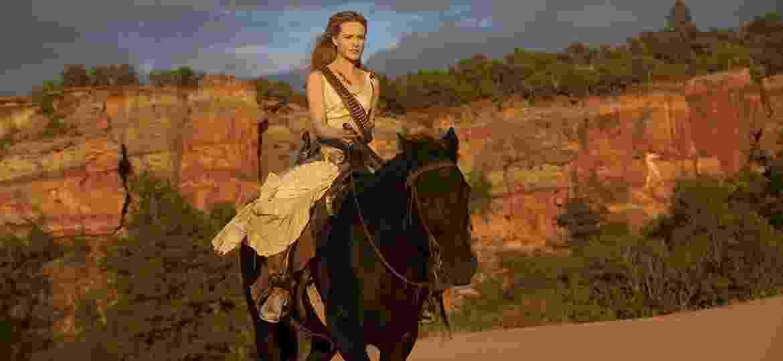 """Evan Rachel Wood em cena de """"Westworld"""" - Reprodução"""