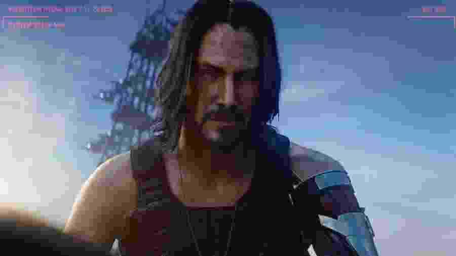 Keanu Reeves - Cyberpunk 2077 - Reprodução