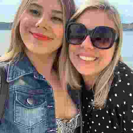 Christiane e Rafaela - Arquivo Pessoal - Arquivo Pessoal