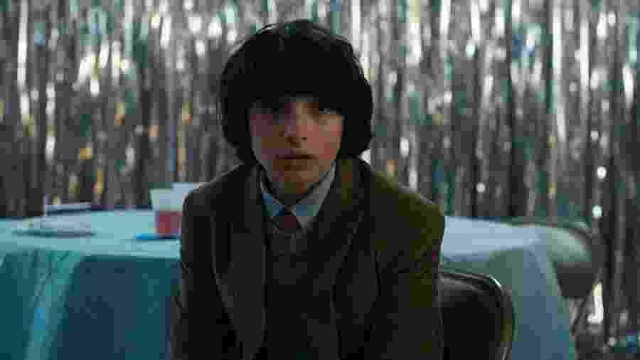 Finn Wolfhard como Mike em Stranger Things - Divulgação/IMDb