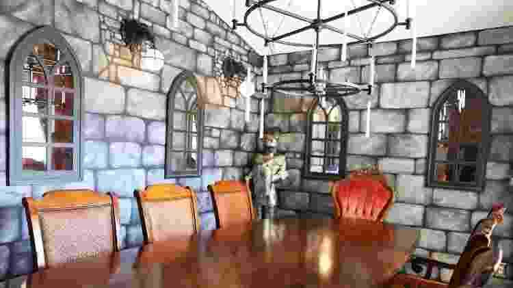 """Casa da Flórida com decoração de """"Harry Potter"""" - Divulgação/Airbnb - Divulgação/Airbnb"""