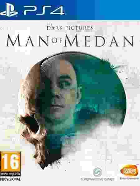 Man of Medan capa - Divulgação - Divulgação