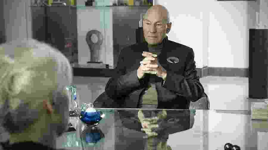 Patrick Stewart em Star Trek: Picard - Divulgação