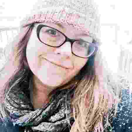 A escritora Kristina Wright - Reprodução/Twitter