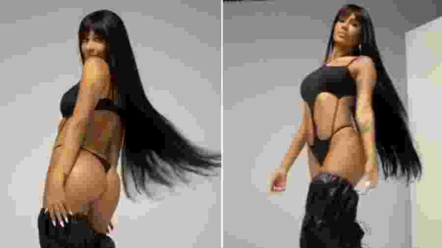 A funkeira Pocah mostra o corpo em maiô - Reprodução/ Instagram