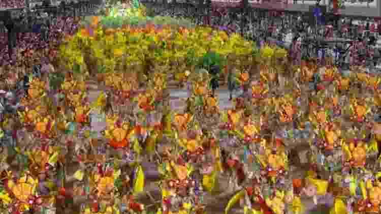 Desfile da Grande Rio - Reprodução/TV Globo - Reprodução/TV Globo