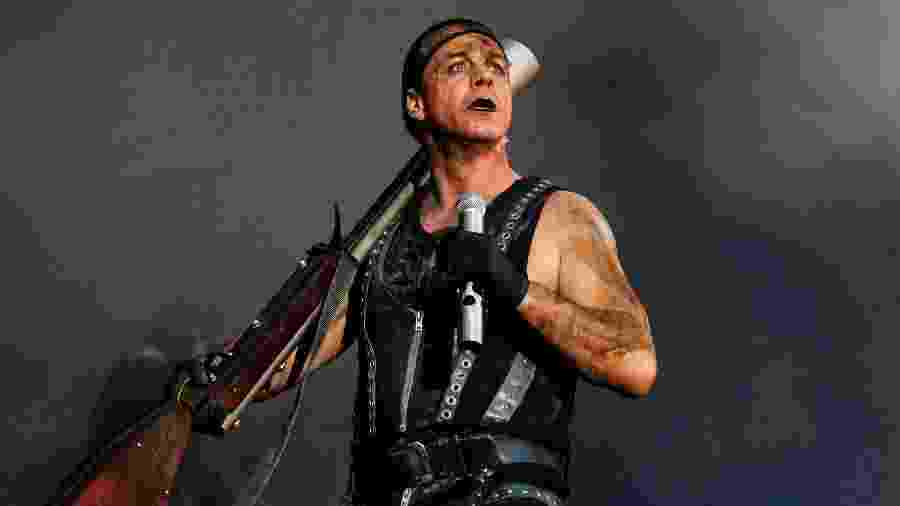 Till Lindemann, do Rammstein, em foto de 2010 - Paul Bergen/Redferns