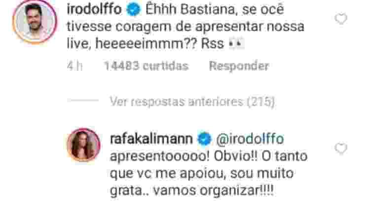 Rafa Kalimann - Reprodução/Instagram - Reprodução/Instagram