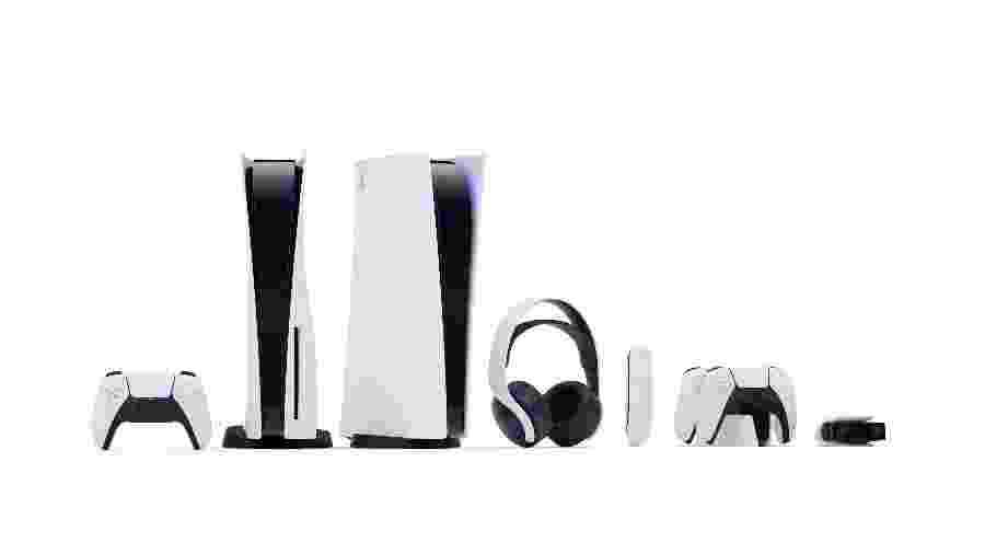 PlayStation 5 será lançado no final de 2020, com duas versões diferentes e acessórios - Divulgação/Sony