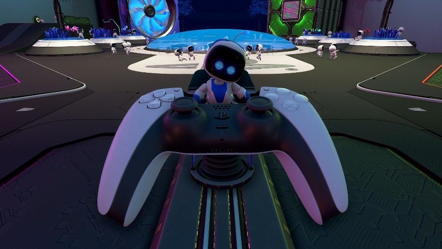"""Astro""""s Playroom será o """"jogo na memória"""" acompanhando cada unidade do PS5 lançada em 2020 - Reprodução/YouTube"""