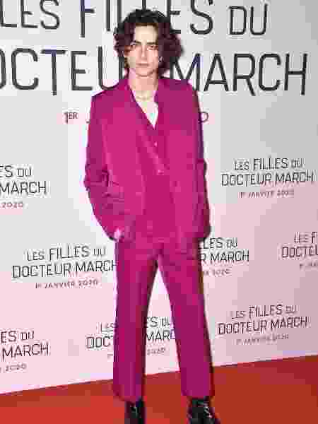 Timothée Chalamet  - Getty Images - Getty Images