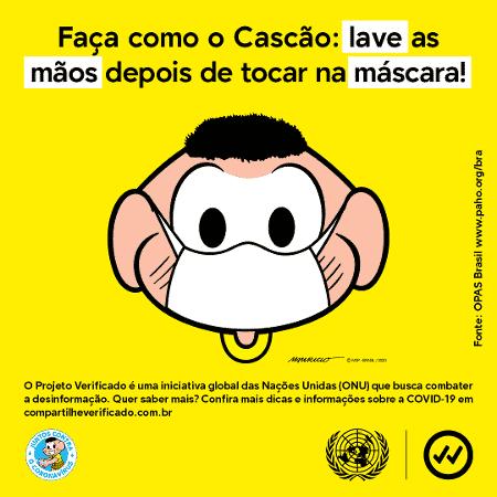 Use máscara - Mônica 2 - Divulgação - Divulgação