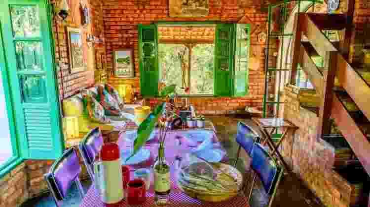 Interior da casa em Rio Acima - Divulgação - Divulgação