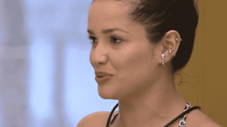 BBB 21: Juliette fala sobre a mãe no almoço do líder - Reprodução/Globoplay - Reprodução/Globoplay