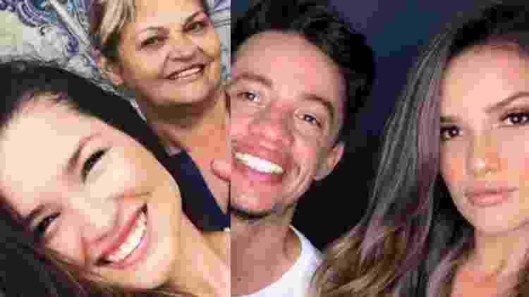 BBB 21: Juliette com a mãe, Fátima Freire e um de seus irmãos, Washington Feitoza - Reprodução/Instagram - Reprodução/Instagram