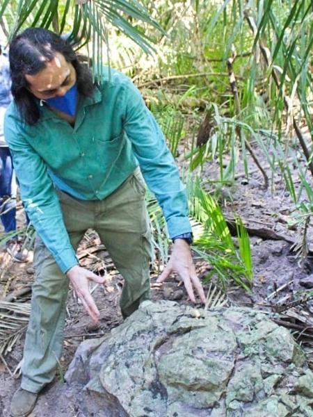 Floresta petrificada é estudada no Piauí - Acervo Pessoal