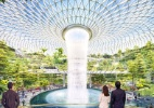 Aeroporto de Cingapura terá bosque e queda d