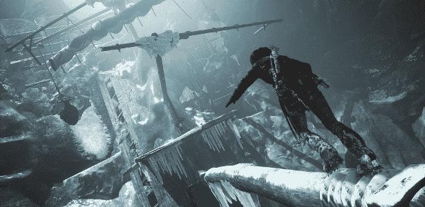 Rise of the Tomb Raider - Divulgação - Divulgação