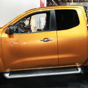Nissan P300 Navara, picape Frontier européia - Murilo Góes/UOL