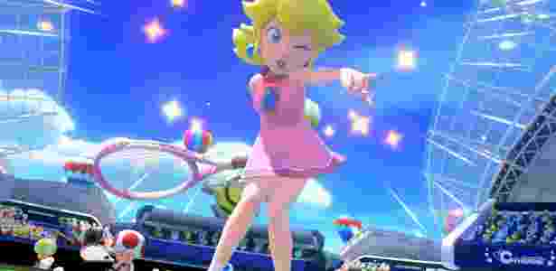 Além de Peach, vários personagens poderão ser selecionados no game - Divulgação