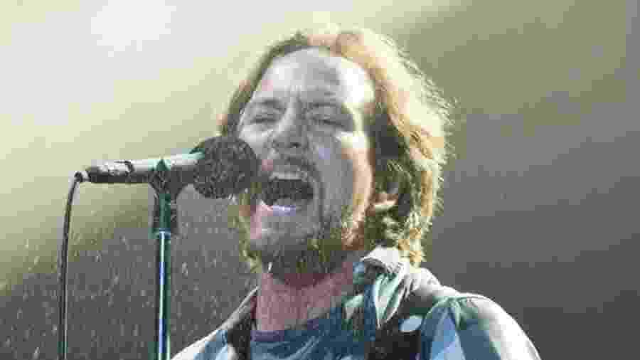 Pearl Jam se apresenta no estádio do Maracanã, no Rio de Janeiro, em 2015 - Marcos Hermes/T4F/Divulgação
