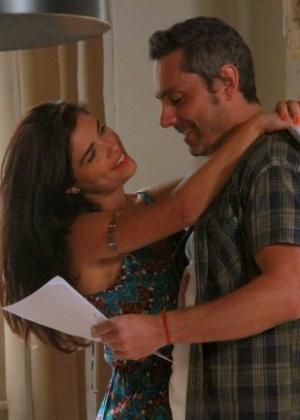 Tóia e Romero Rômulo estão no grupo de casais infelizes  - Graça Paes/Brazil News