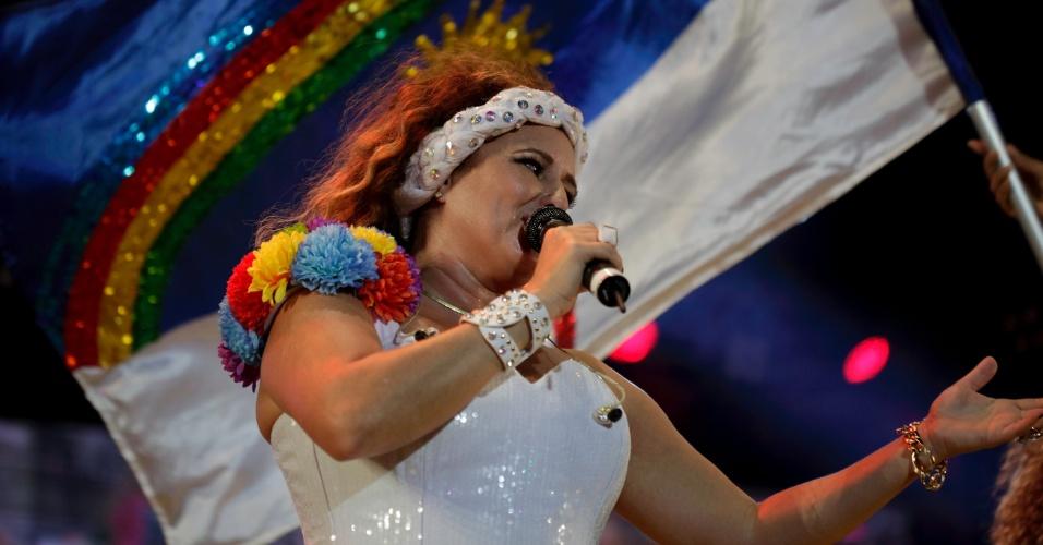 7.fev.2016 - Show de Gerlane Lops no Marco Zero, no Recife