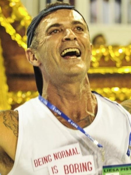 Paulo Barros é carnavalesco da Vila Isabel - Marcelo Cortes /Fotoarena/Folhapress