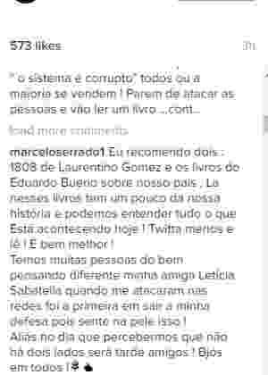 reprodução/instagram/@marceloserrado1