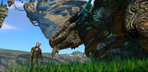 """Do criador de """"Bayonetta"""", """"Scalebound"""" se passaria em mundo habitado por dragões"""