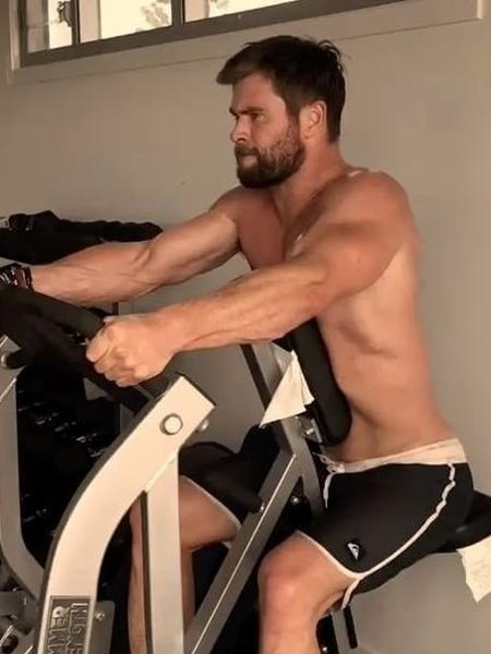 O ator australiano Chris Hemsworth - Reprodução/Instagram