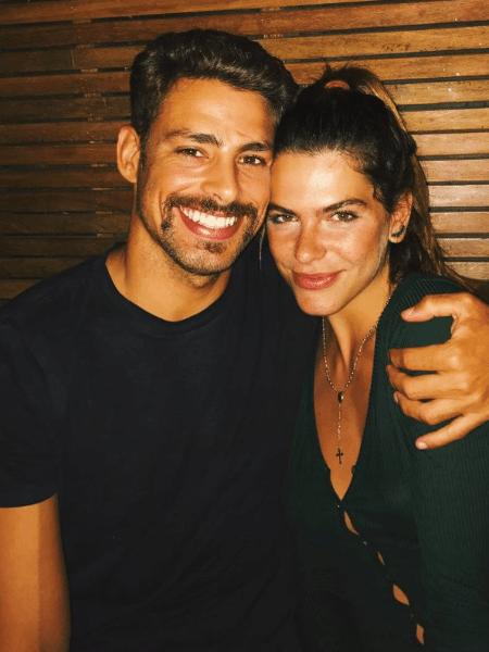Mariana Goldfarb com o namorado, Cauã Reymond - Reprodução/Instagram